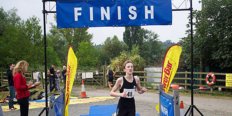 Aquathlon-Finish